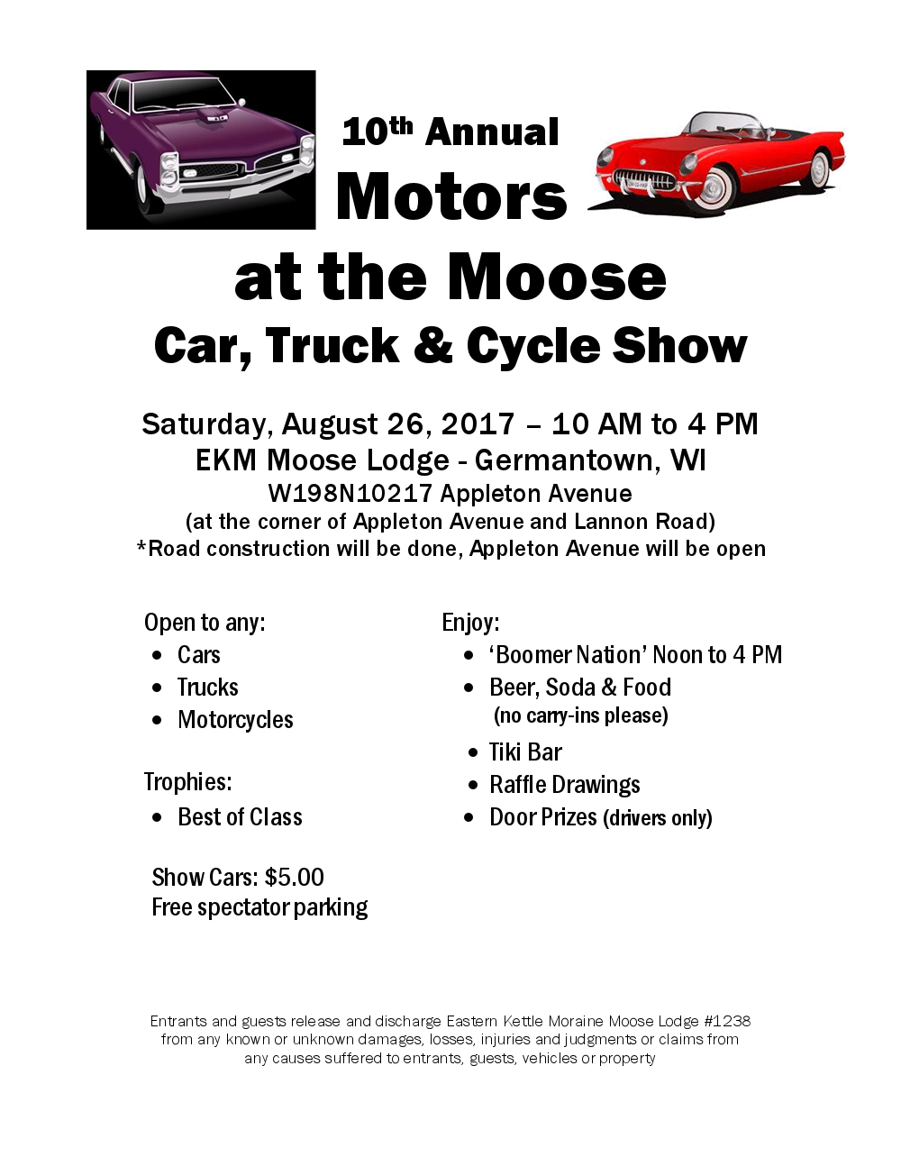 EKM Motors at the Moose