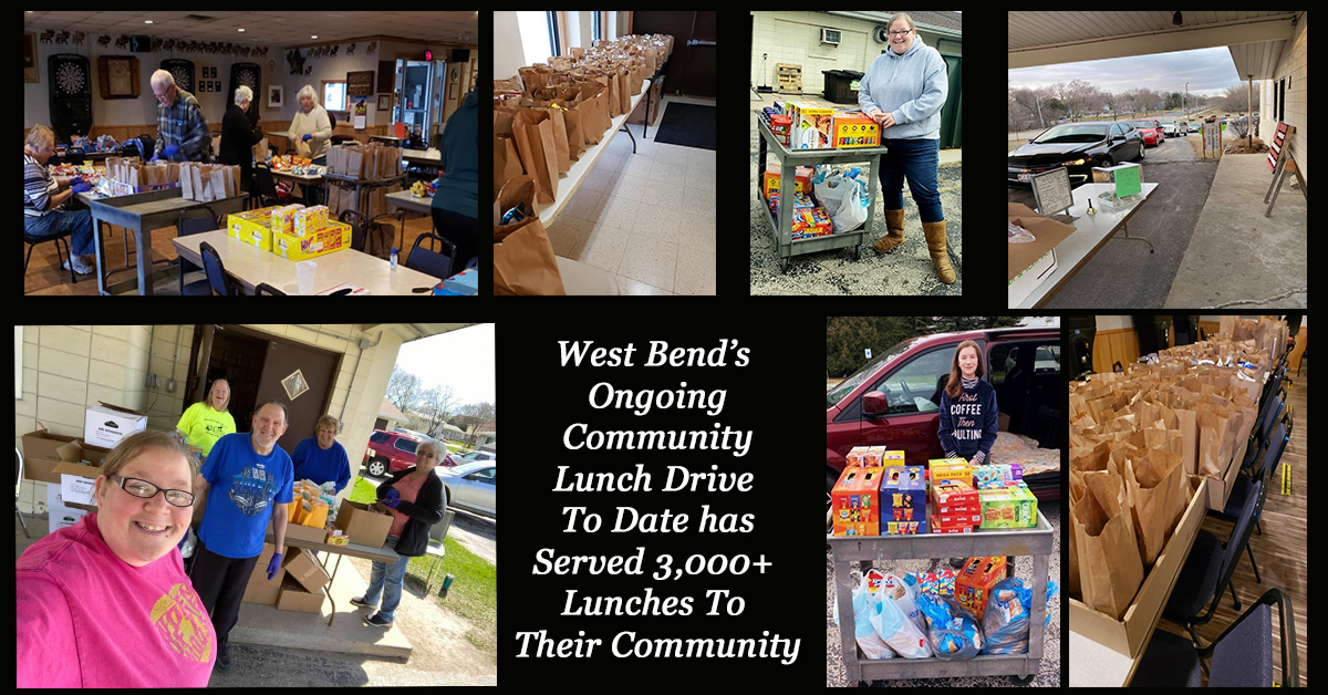 West Bend Steps up in Community During Pandemic