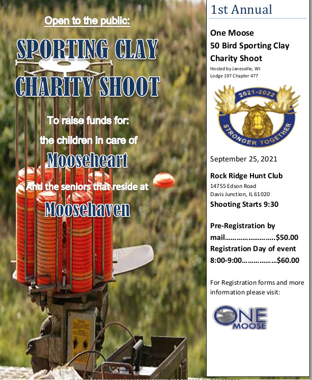 1st Annual Sporting Clay Shoot -9/25