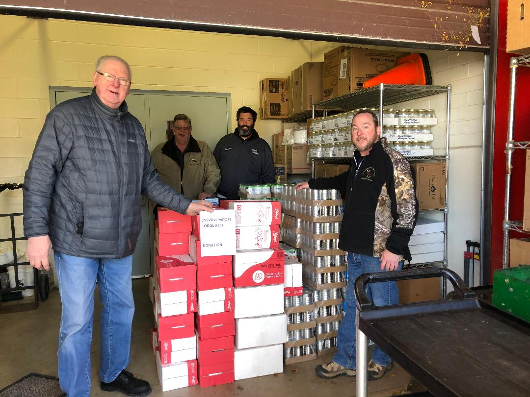 Janeville teams up with Seneca Foods to Donate to Mooseheart