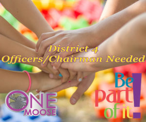 District 4 Officer/Chairman Nomination form